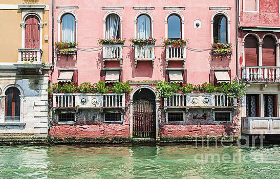 Ancient buildings in Venice by Deyan Georgiev