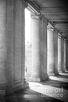 Ancient Colums by Stefano Senise