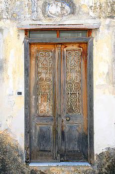 Ancient Doors In Greece by Maria Varnalis
