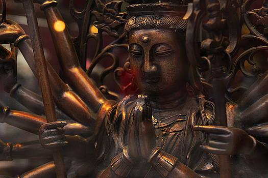 Ancient Goddess Bronze Toned by Donna Betancourt