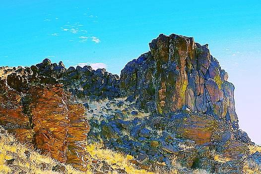 Ancient Oregon Landscapes by Steve Warnstaff