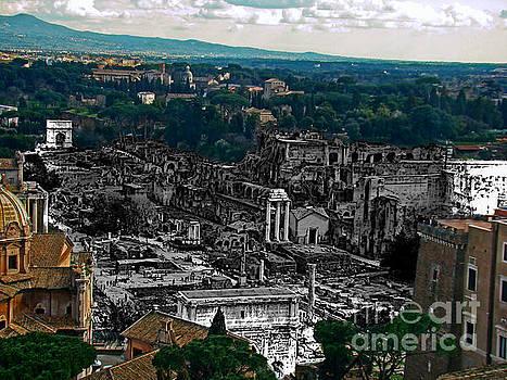 Ancient Rome, Italy II by Al Bourassa