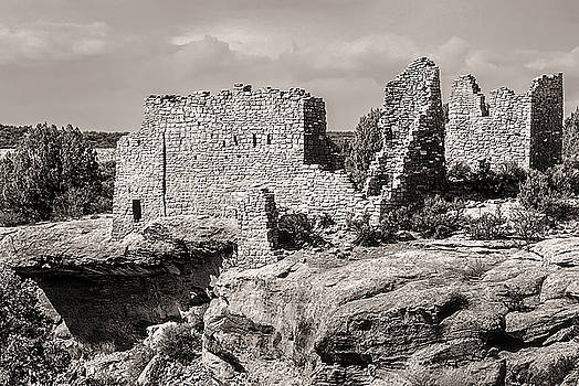 Ancient Ruins at Hovenweep National Monument by John Brink
