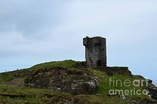 Ancient Tower on the Cliff's Of Moher by DejaVu Designs