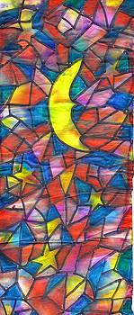 And The Moon At Night 2 by Wayne Potrafka