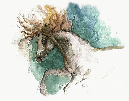 Angel Tarantella - andalusian horse 2014 06 05