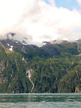 Anderson Falls Valdez, Alaska by Denise   Hoff