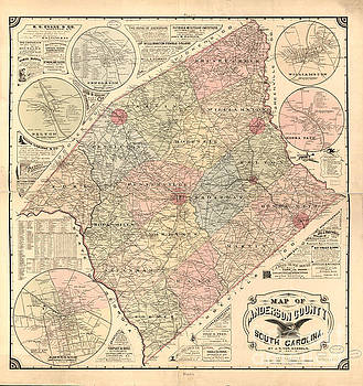 Dale Powell - Anderson SC Map