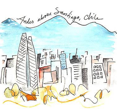 Anna Elkins - Andes Above Santiago