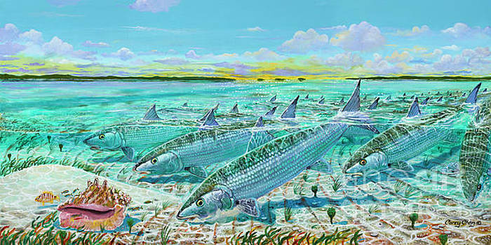 Andros  Bonefishes IN0032 by Carey Chen