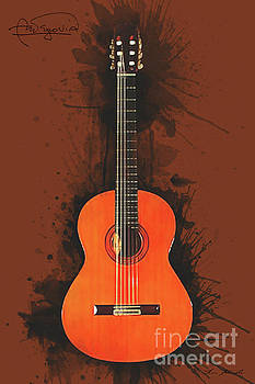 Andres Segovia Guitar by Tim Wemple