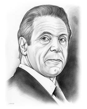Andrew Cuomo by Greg Joens