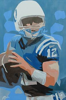 Andrew Luck II by Steven Dopka