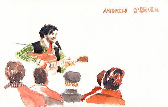 Andrew O'Brien playing by Omar Jaramillo
