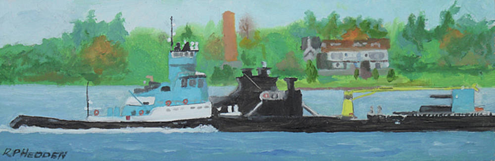 Andrie Inc Tug and Barge by Robert P Hedden