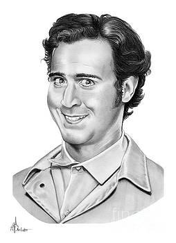 Andy Kaufman by Murphy Elliott