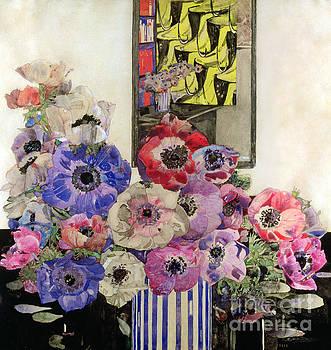 Charles Rennie Mackintosh - Anemones by Charles Rennie Mackintosh
