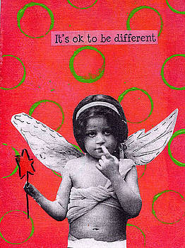 Angel - its ok to be different by Kelly  Parker