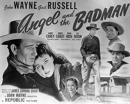 Angel and the Badman Poster by Bob Bradshaw