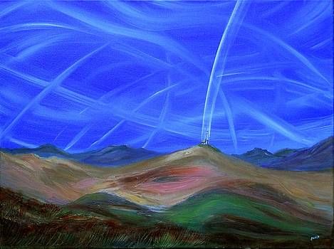 Angel Contrails by David King Johnson