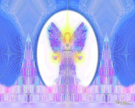Angel Crystals 444 by Barbara Tristan