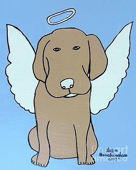Artists With Autism Inc - Angel dog