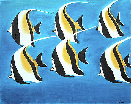 Angel Fish by Kristine Mueller Griffith