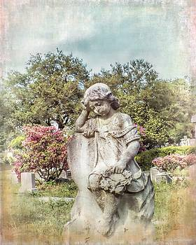 Angel For Annie, Cemetery Child Angel, Charleston South Carolina by Melissa Bittinger