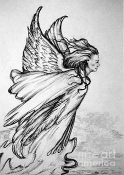 Angel From Above by Georgia's Art Brush