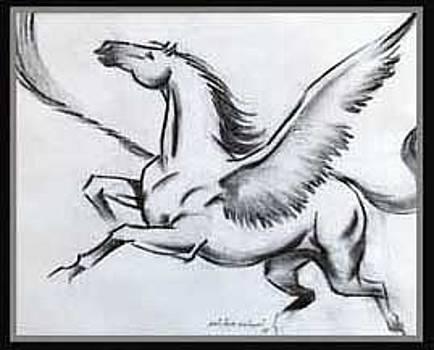Angel Horse by Milind Shimpi