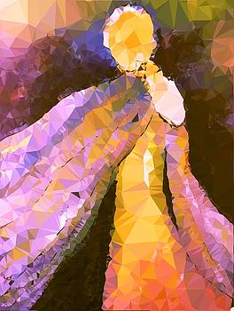 Angel in Crystal Light by Patricia Taylor