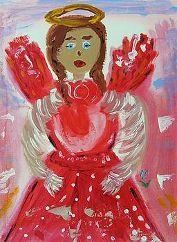 Angel in Red by Mary Carol Williams
