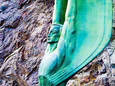 Angel in Stone  by Robert Lowe