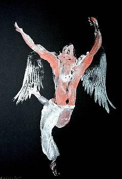Angel leaping by Ana Bikic