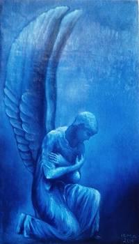 Angel Michael by Irine Shotadze