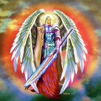 Angel Michael by Michael Waters