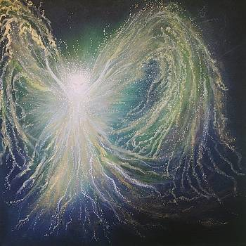 Angel of Peace by Energy Print by Naomi Walker