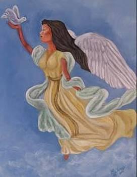 Angel Of Peace by Sandra Winiasz