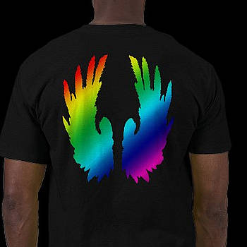 Angel Rainbow Wings by RazzleDazzleThem RazzleDazzleThem