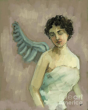 Angel - Study by Carrie Joy Byrnes