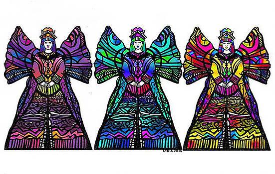 Lydia L Kramer - Angel Trio