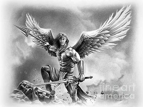 Angel Warrior by Miro Gradinscak