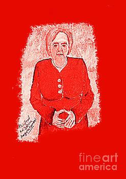 Angela Merkel German Chancellor 1 by Richard W Linford