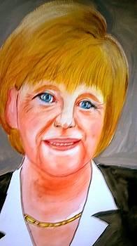 Angela Merkel by Rusty Woodward Gladdish