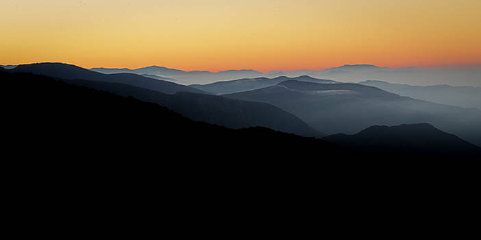 Angeles Crest Sunrise by ChrisAntoniniPhotography