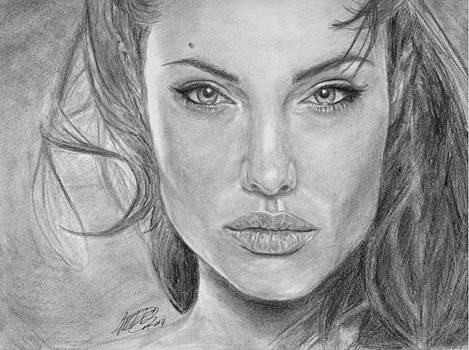 Angelina Jolie by Angelica Medrano