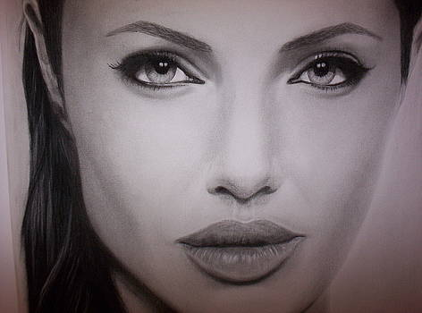 Angelina Jolie by Brendan SMITH