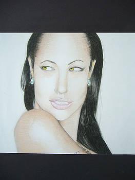 Angelina Jolie by Fabio Turini