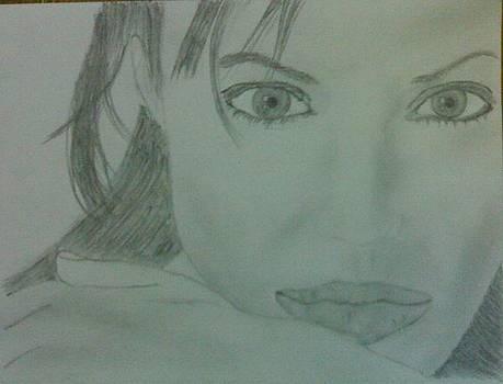 Angelina Jolie by Suryaveer Rathore