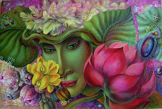 ANGELof flowers by Una Lune